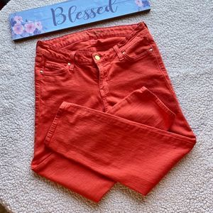 Kate Spade Mid Rise Play Hooky Crop Jeans Size 27